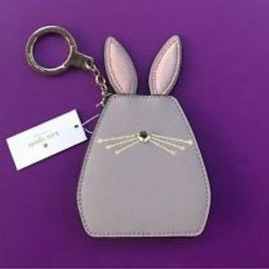 Kate Spade Bunny Keychain